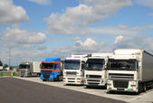 Parking Trucks — Stock Photo