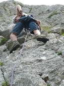 Jonge klimmer — Stockfoto