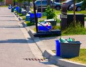 Yeşil sokak — Stok fotoğraf
