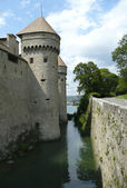Chillon-Schloss — Stockfoto