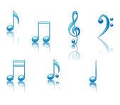 Musical Notes — Stock Vector
