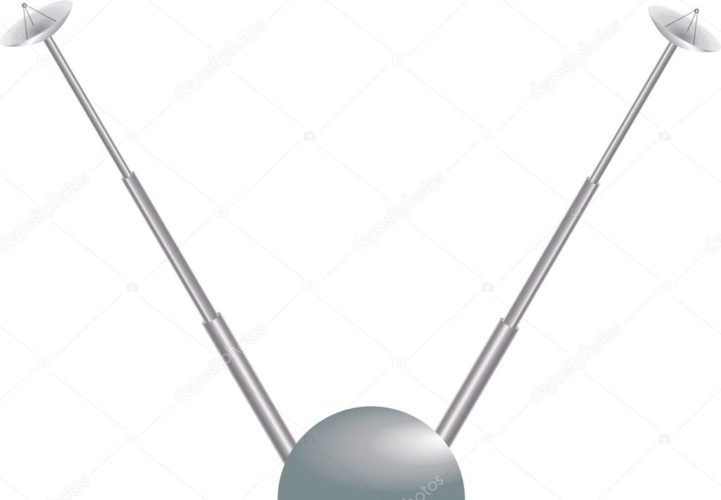 Vectoral antenna  Stock Vector #6215066