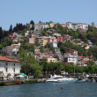 Residential district in Istanbul - Stock Photo