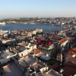 Panoramic view of Istanbul from the Galata Tower — Stock Photo #6243809
