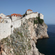 City wall of Dubrovnik, Croatia — Stock Photo