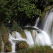 Waterfall in Krka National Park in Croatia — Stock Photo #6243912