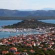 Town Murter in Croatia — Stock Photo
