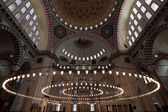 Cupola of the Suleymaniye mosque in Istanbul — Stock fotografie