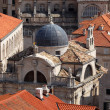Old church in the Croatian town Dubrovnik — Foto de Stock