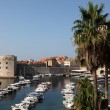 View of the historic Croatian town Dubrovnik - Stock Photo