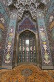 Interior da grande mesquita em muscat, omã — Foto Stock