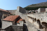 Fortified wall of Dubrovnik, Croatia — Stock Photo