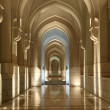 Stock Photo: Archway at Sultans Palace in Muscat, Oman
