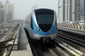 Metro Train in Dubai — Foto Stock