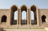Gran mezquita de sultán qaboos en muscat, omán — Foto de Stock