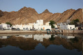 Muttrah - the old town of Muscat — Stock Photo