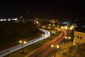 The old town of Muscat at night — Stock Photo