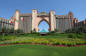 Atlantis, the palm resort hotel in Dubai — 图库照片