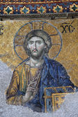 Ancient Jesus Christus mosaic — Stock Photo