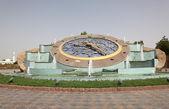 Rotonde klok in al ain, abu dhabi — Stockfoto