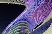 Yas Marina Hotel At Night, Abu Dhabi — Stock Photo