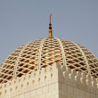 Cupola of the Sultan Qaboos Grand Mosque - Stock Photo