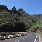 Road in Anaga Mountains, Tenerife — Stock Photo