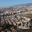 Aerial view of Santa Cruz de Tenerife, Canary Islands, Spain — Stock Photo