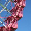 Detail shot of a ferris wheel - Stock Photo