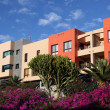 Modern residential buildings in southern Spain — Stock Photo
