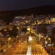 Los Cristianos at dusk. Canary Island Tenerife, Spain — Stock Photo