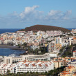 Aerial view of Los Cristianos, Canary Island Tenerife, Spain — Stock Photo