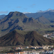 Mountains on Canary Island Tenerife, Spain — Stock Photo