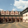 Inner Square of castle Weilburg, Hessen, Germany — Stock Photo