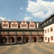 Inner Square of castle Weilburg, Hessen, Germany - Stock Photo