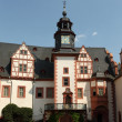Clock Tower of the Castle Weilburg in Hesse, Germany — Стоковая фотография