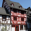 Traditional half-timbered house in Limburg, Hesse, Germany — ストック写真