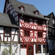 Traditional half-timbered house in Limburg, Hesse, Germany — Stockfoto
