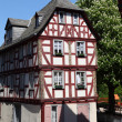 Traditional half-timbered house in Limburg, Hesse, Germany — Стоковая фотография