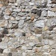 Stock Photo: Old stone wall made of randomly stacked blocks