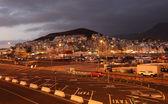 在黄昏的基督教徒。加那利岛西班牙特内里费 — 图库照片