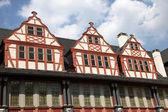 Traditionelle fachwerkhäuser in weilburg, deutschland — Stockfoto