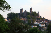 Medieval castle Braunfels in Hesse Germany — Stock Photo