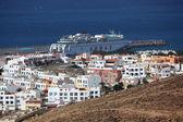 Morro jable, kanárské ostrov fuerteventura, španělsko. fotografie pořízené na 23 mar — Stock fotografie