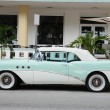Stock Photo: Old Car in Miami South Beach, FloridUSA