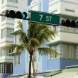 Stock Photo: Seventh Street in Miami