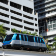Stock Photo: Fully automated Miami downtown train system