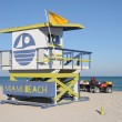 Royalty-Free Stock Photo: Lifeguard Tower at Miami South Beach