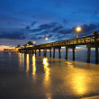 Fort Myers Pier at Sunset — Stock Photo #6384533