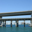 Biscayne Bridge in Miami, Florida — Stock Photo #6384639